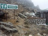 Visitor amenities at Sela Pass