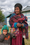 Young and old at Chillipam Gompa