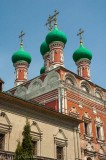 Domes of the Pokrov Gate Church, Upper St Peter's Monastery