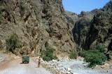 Entering the Musandam from Wadi Shamsi, outside Dibba