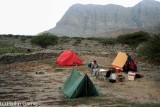 Two Davids in camp near Ras Al Khaimah