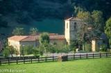 Parador at Cangas de Onis, Asturias, an historic monastery