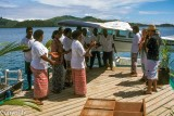 Farewell party on leaving Turtle Island