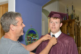 Travis Graduates from High School