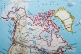 Location of Victoria Island in the Canadian Arctic
