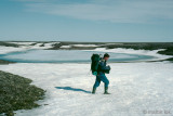 Hiking back from the Augustus Hills - Voettocht terug van de Augustus Hills