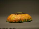 Sunflower bowl upsidedown.jpg