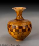 Segmented Vase.