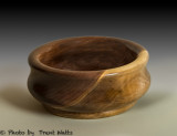 Small bowl made from Walnut.