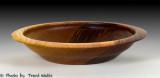 Walnut bowl.