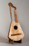 A Harp Lute.