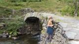 Thomas on the bridge (almost)