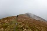 Looking forward along Knott Rigg ridge