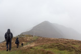 Ard Crags comes into view