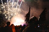 Torchlight Procession Fireworks Finale