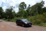 My transport: Galle Face Hotel's car