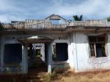 War-damaged house, south of Jaffna