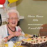 100e anniversaire de Claire Venne est décédée à l'âge de 103 ans 4 mois et 5 jours