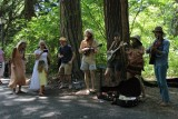 Musicians in Lithia Park Ashland Oregon
