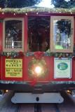Powell Street Christmas Cable Car