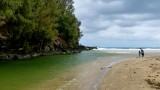 Stream at Lumahai Beach