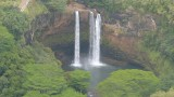 Helicopter View of Wailua Falls