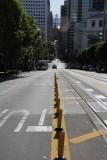 Looking Down California Street