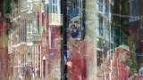 Amsterdam Window Reflection