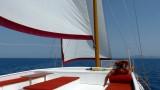 Sailing the Blue Aegean