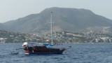 Anchored Outside Bodrum