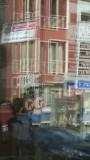 Sofa Cafe & Restaurant Window Reflection