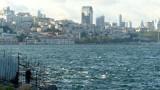 Bosphorus Strait Fisherman