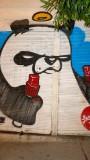Beyoglu Panda Street Art