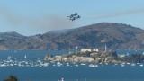 Blue Angels over Alcatraz