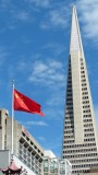 Transamerica Pyramid from Portsmouth Square
