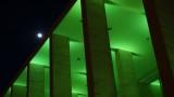 Masonic Temple Full Moon