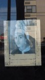 Frenchmen Street Window Reflection