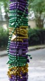 Garden District pole with beads