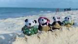 The Pandafords visit Kiwengwa Beach, Zanzibar