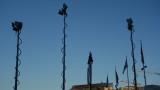 TV truck Antennas