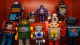 Newspaper Kiosk Robots