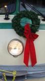 F Market Street Car with Christmas Wreath
