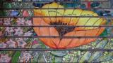 16th Avenue Steps California Poppy Mosaic