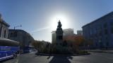 Civic Center Pioneer Monument