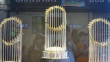 Giant's World Series Trophies