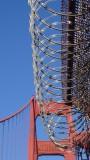 Golden Gate Bridge Cable Barrier