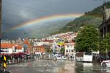 Rainbow Over Bergen