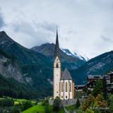 St. Vincent Chapel inThe Village of Heiligenblut am Großglockner