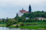 Approaching Meissen, Germany on the Elbe River