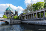 Approaching the Berliner Dom via the Spree River